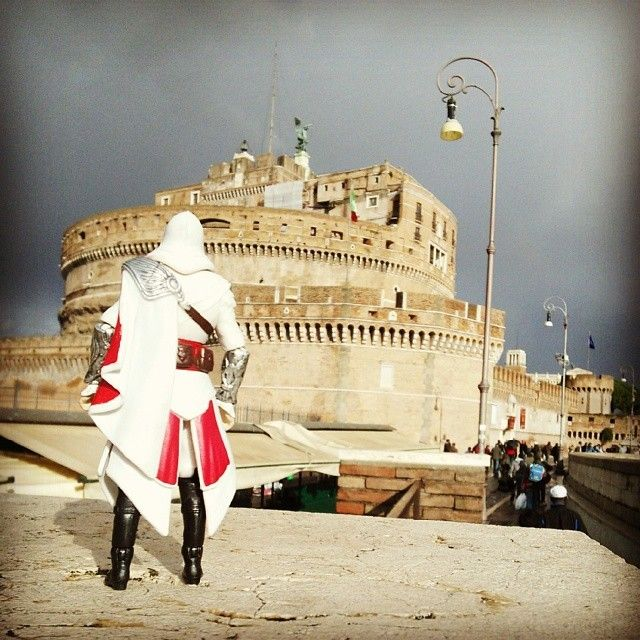 Oh, the memories here #CastelSantAngelo #Rome #Italy #Nostalgia #ClimbAllTheThings #ParachuteOut #RescueCaterinaSforza #KillTheBorgias #WarningRestrictedArea