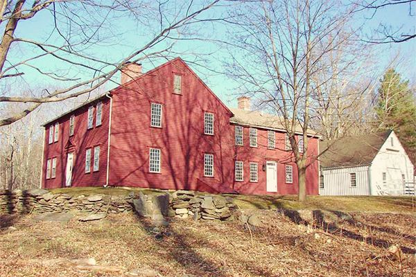 144 best images about salt box homes on pinterest red for New england barns for sale