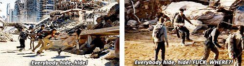 Thomas vs. Dylan (The Maze Runner...