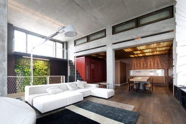cool loft apartment.  Loft Apartment by 2B Group Lofts Apartments and