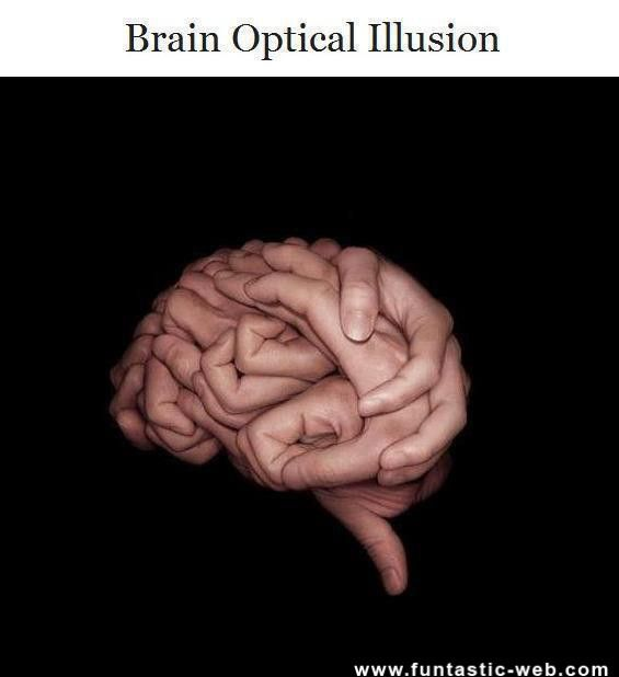 brain illusions optical illusion funny cool teasers body eye hands games perspective lesson mind visual 3d hand looking amazing funniest