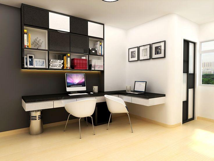 Modern Study Room Design