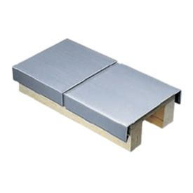 Coping available in zinc copper, stainless, steel, pre-painted aluminium & PPC aluminium
