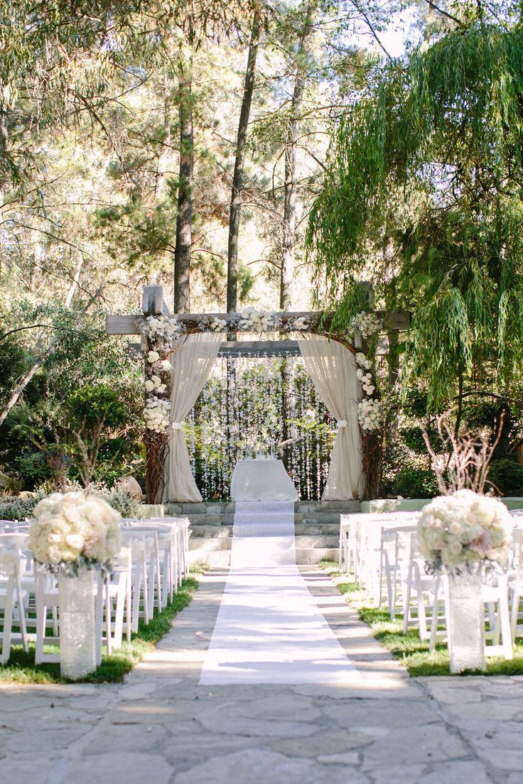 25 best ideas about Woods Wedding Ceremony