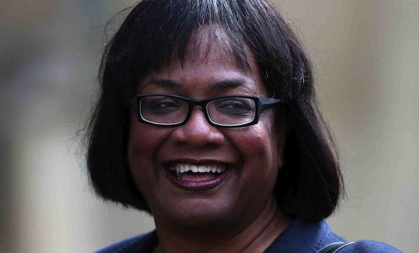 Petition to get DIANE ABBOTT sacked for 'racism against white people' hits 7,500 signatures