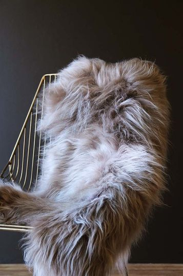An Icelandic sheepskin adds texture, cosiness, style and comfort to your home
