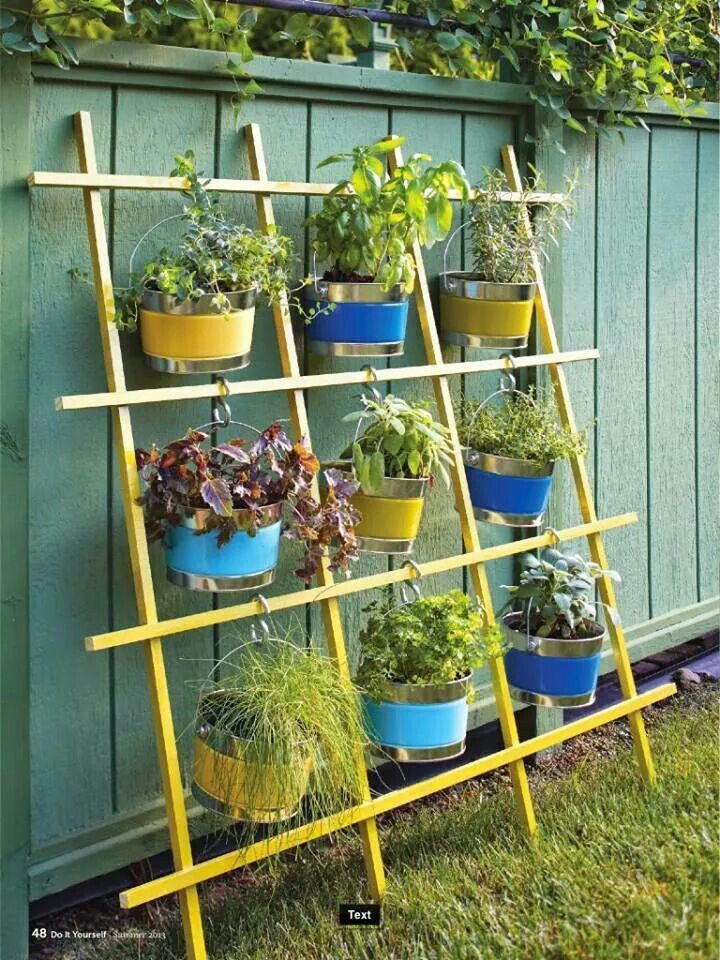 container vertical garden