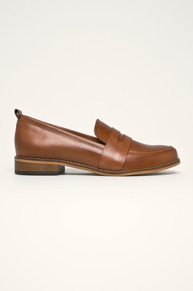 Wojas Mokasyny Skorzane Dress Shoes Men Loafers Men Oxford Shoes