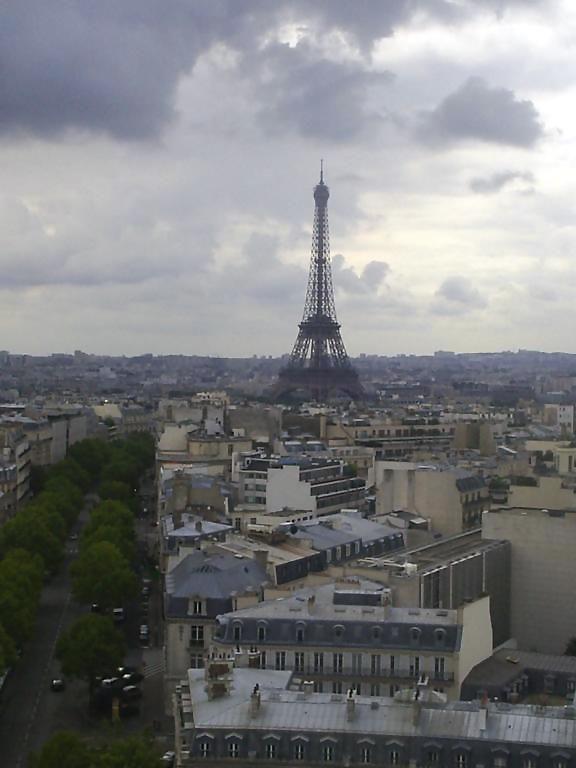 Skyline van Parijs - Eiffeltoren