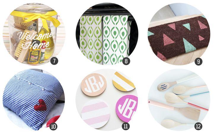 """18 regalos """"handmade"""" para recién casados en blog.cosasmolonas.com"""