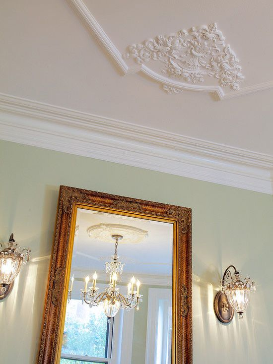 Gorgeous ceiling and wall decor Crown molding india