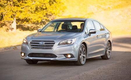 The 2015 Subaru Legacy sedan tempers its quirkiness and aims for the mid-size mainstream. Read the review and see the photos at Car and Driver.