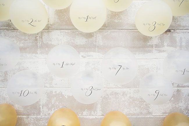 Garden Styled Wedding Inspiration with Balloons
