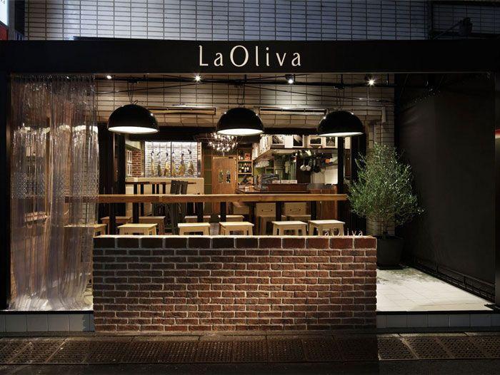 Industrial restaurant design concept by