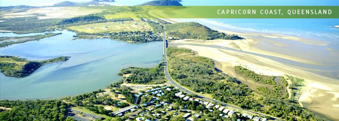 Coolwaters Holiday Village on the Capricorn Coast, Queensland
