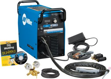 Diversion™ 180 Perfect for the personal user, this AC/DC TIG machine upgrade has both 115V and 230V input power capability.