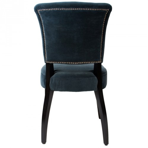 Timothy Oulton Mimi Chair- Vintage Moleskin Duck & Black - Timothy Oulton