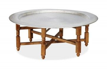 Marrakesh Tray Table - Mediterranean - Coffee Tables - Pottery Barn