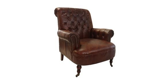 Buttoned Library Chair - Formal Living?