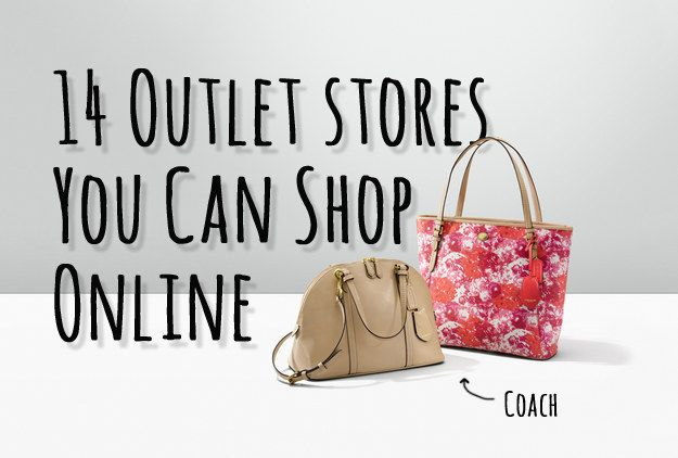 14 Outlet Stores You Never Knew You Could Shop Online | Company and factory sites with similar or same brand names, but for less!