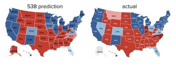 Triumph of the Nerds: Nate Silver Wins in 50 States
