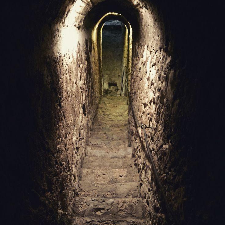 Secret tunnel, Bran Castle