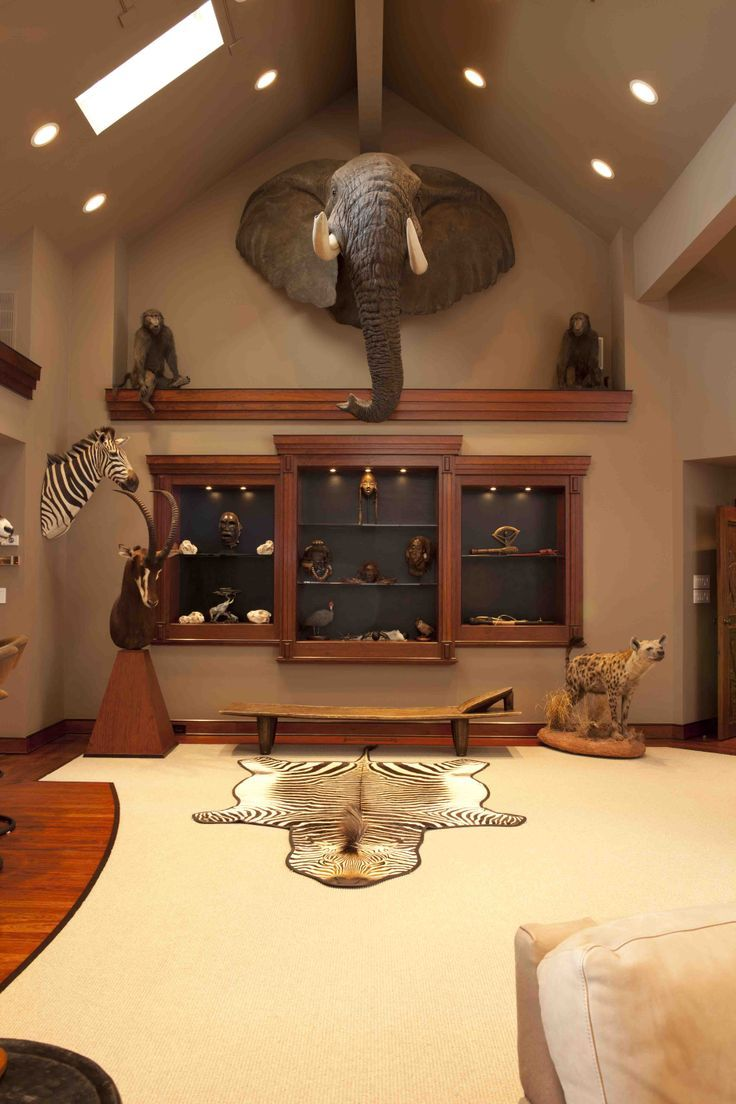 25 best ideas about trophy rooms on pinterest room door for Trophy room design