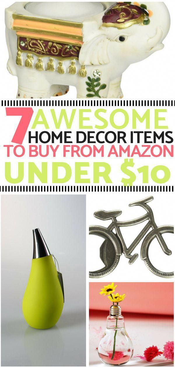 These UNDER $10 HOME DECOR ITEMS from AMAZON are truly AMAZING! A