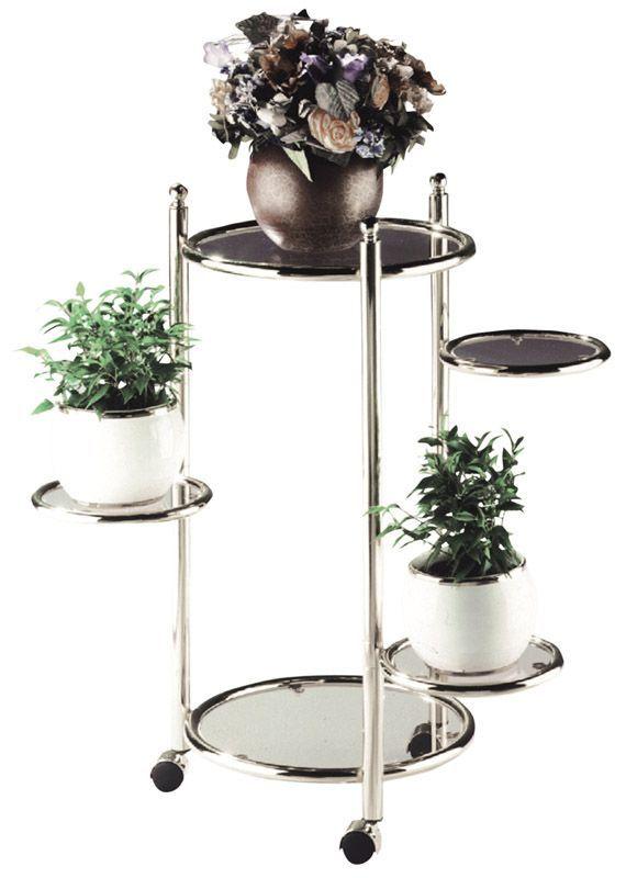 Cool  telefonregal blumenhocker beistelltischchen telefonkonsole pflanzens ule blumentisch tisch glastisch wohnzimmer blumenregal blumenst nder