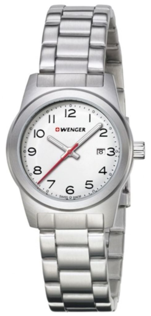 Wenger Watch Field Colour #bezel-fixed #bracelet-strap-steel #brand-wenger #case-depth-mm #case-material-steel #case-width-mm #classic #date-yes #delivery-timescale-call-us #dial-colour-white #gender-ladies #movement-quartz-battery #new-product-yes #official-stockist-for-wenger-watches #packaging-wenger-watch-packaging #style-dress #subcat-field #supplier-model-no-01-0411-134 #warranty-wenger-official-3-year-guarantee #water-resistant-100m