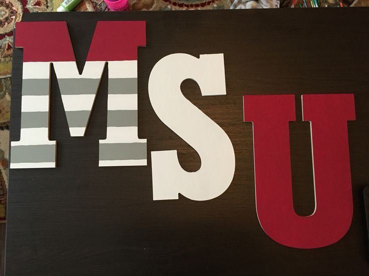 Missouri state university paired letters