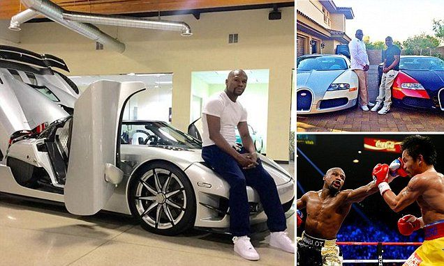 Floyd Mayweather's latest runabout: A £3m, 250mph ultra-car