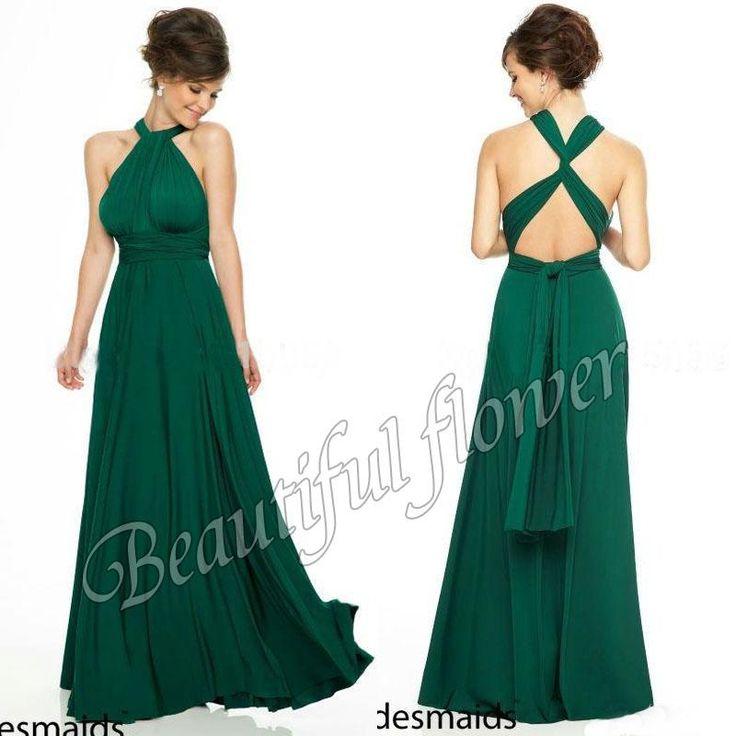 253 best bridesmaid Dresses images on Pinterest   Brautjungfern ...