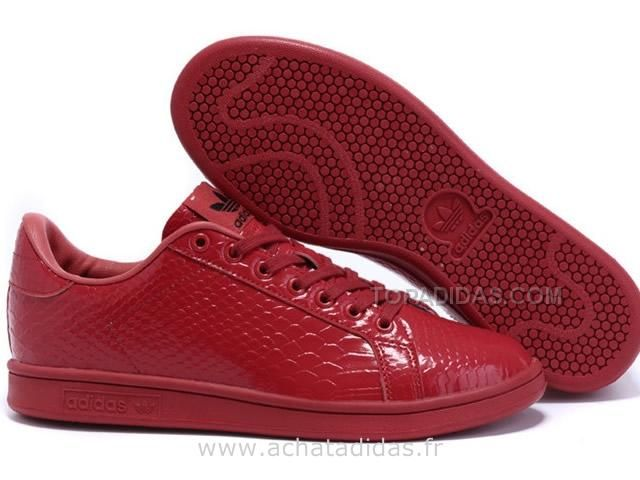 Stan Smith Rouge A Scratch