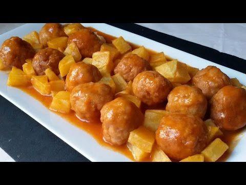 Anna recetas fáciles: Cómo preparar albóndigas caseras de carne y trucos para congelarlas. Albóndigas con tomate