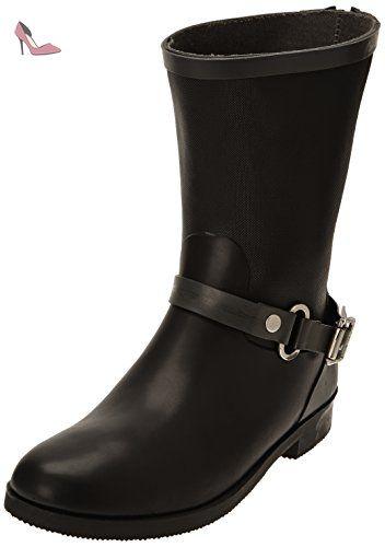 Be Only Demi Jen, Bottes de pluie femme - Noir, 40 EU - Chaussures be only (*Partner-Link)