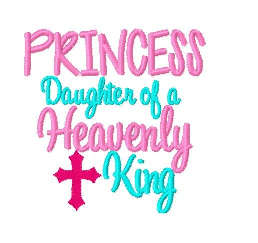 Princess Daughter of a Heavenly King   Religious by D84Designs