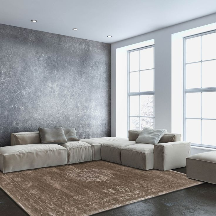 This stunning range of rugs has been designed by the famous Belgian design Louis De Poortere. #FloorRugs #InteriorDesign