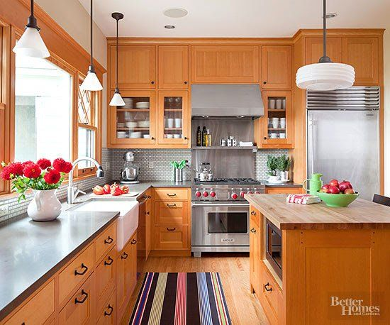 Kitchen Ideas With Light Wood Cabinets best 25+ cherry wood kitchens ideas on pinterest | cherry wood