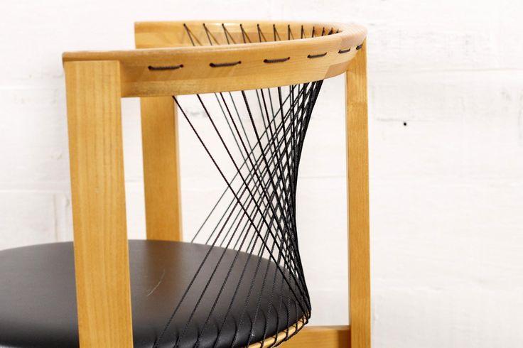 Dänischer Stuhl von Niels Jorgen Haugesen für Tranekær, 1980er 10