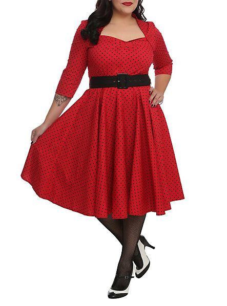 Cute Plus Size Retro Dresses for Sale