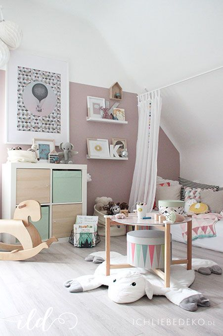 90 best Kinderzimmer für Mädchen | girls room ideas images on ... | {Design kinderzimmer 2}