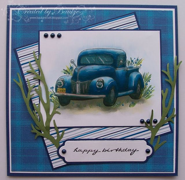 Baukje's Cards and Crafts: Cards for Men