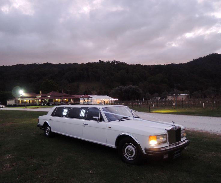 Somerton Limousines' Rolls-Royce Silver Spirit.