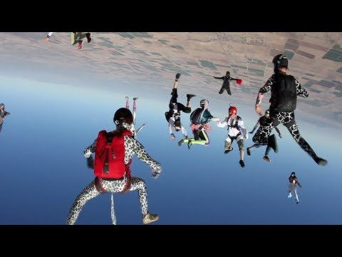 Harlem Shake (Skydive Edition) - nice idea but too much random switching here