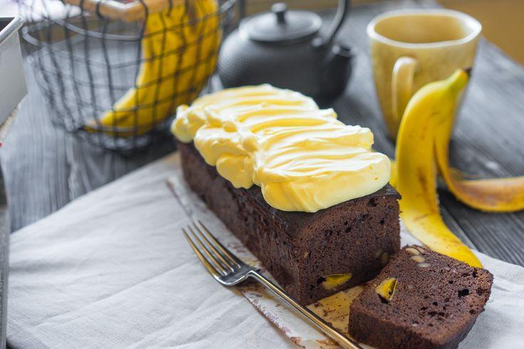 Быстрый шоколадный кекс с бананами и хрустяшкой - Andy Chef - блог о еде и путешествиях, пошаговые рецепты, интернет-магазин для кондитеров
