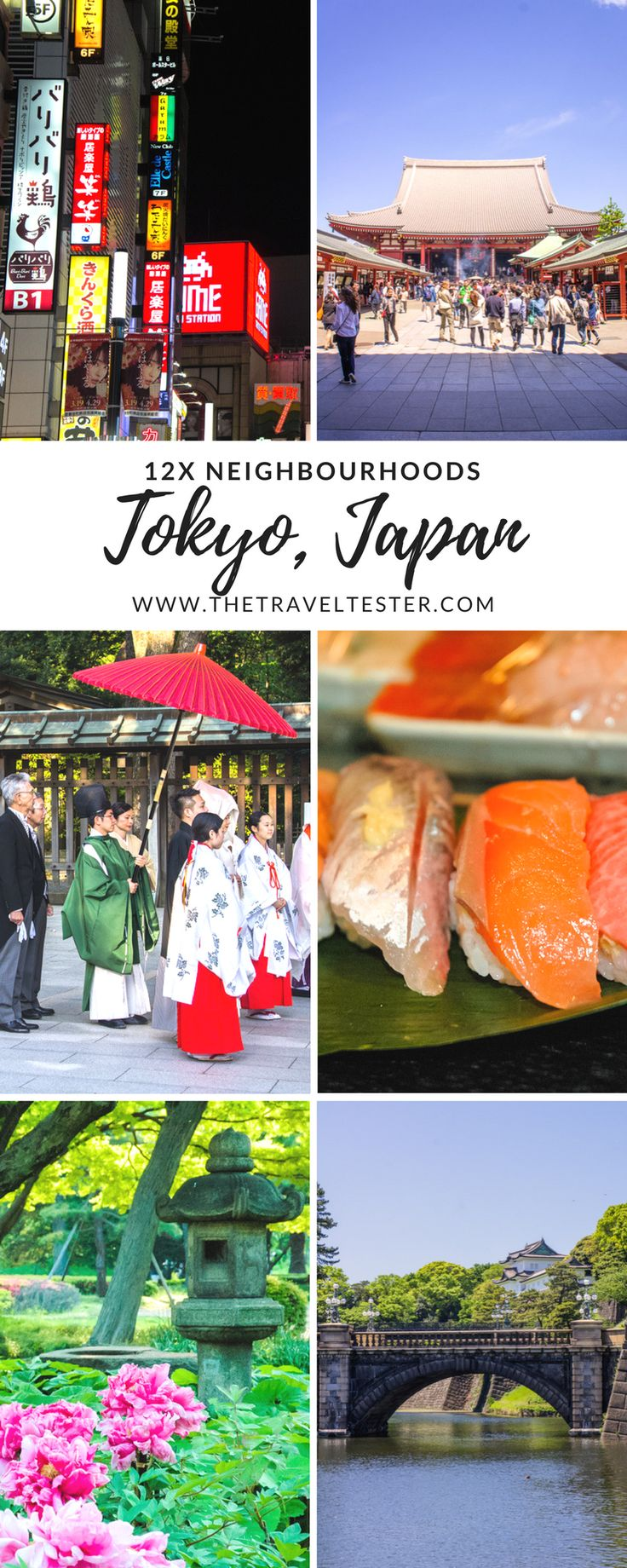 Are you visiting Tokyo in Japan soon, but not sure where to start? Here is a handy overview of 12 of the most interesting neighbourhoods in Tokyo, so you can start planning your trip! Suggestions by The Travel Tester