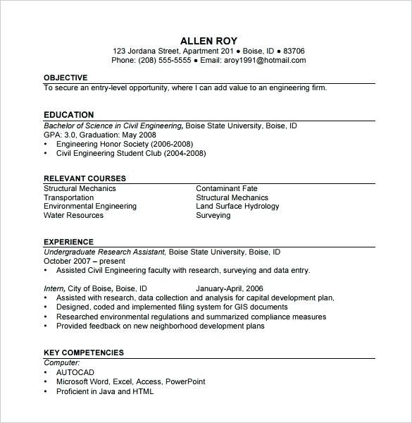 Resume For Construction Worker Construction Worker Resume Sample