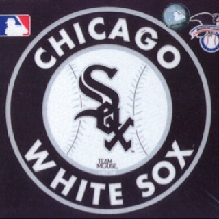 "I chose this as part of my graphic design photo because i like how the Chicago White Sox incorporated this style of graph design using the Old English font as this logo. It attracts attention and for many it is ""cool""."