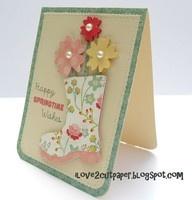 happy springtime wishesCards Ideas, Cardmaking Gallery, Rain Boots, Gardens Boots, Cute Ideas, Boots Cards, Cut Paper, Happy Springtime, Mothers Day Cards